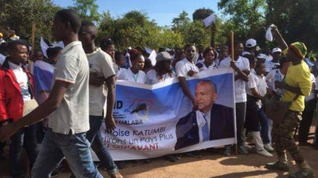 Moïse Katumbi yahungutse, yakirwa n'imbaga y'abantu i Lubumbashi