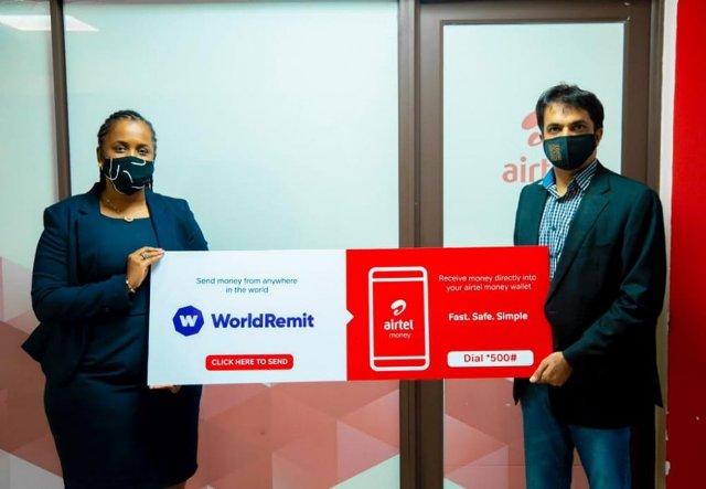 Ikorabuhanga: Airtel Rwanda na WorldRemit mu bufatanye bwo  kohererezanya amafaranga ku Isi hose