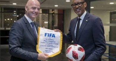 FIFA yemerewe kugira icyicaro mu Rwanda